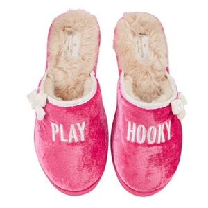 Kate Spade Play Hooky Slippers